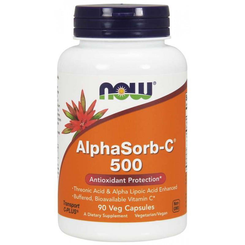 ALPHASORB-C™ (Буфериран Витамин C) 500 мг - 90 КАПСУЛИ