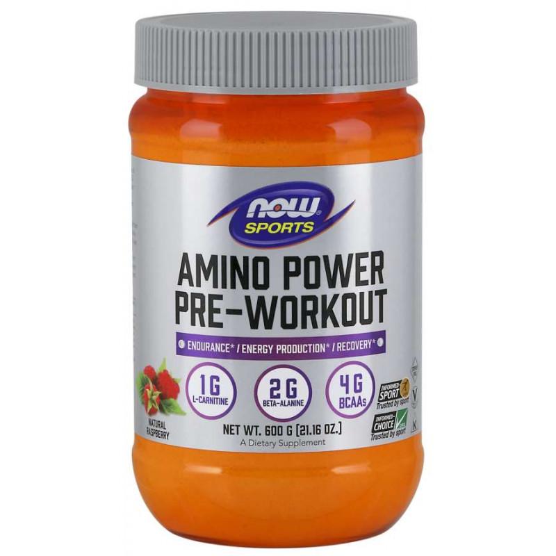 Amino Power Pre-Workout - 600 грама