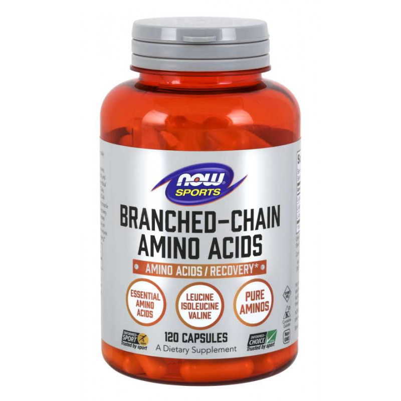 Branched Chain Amino Acids 800 мг - 120 Капсули