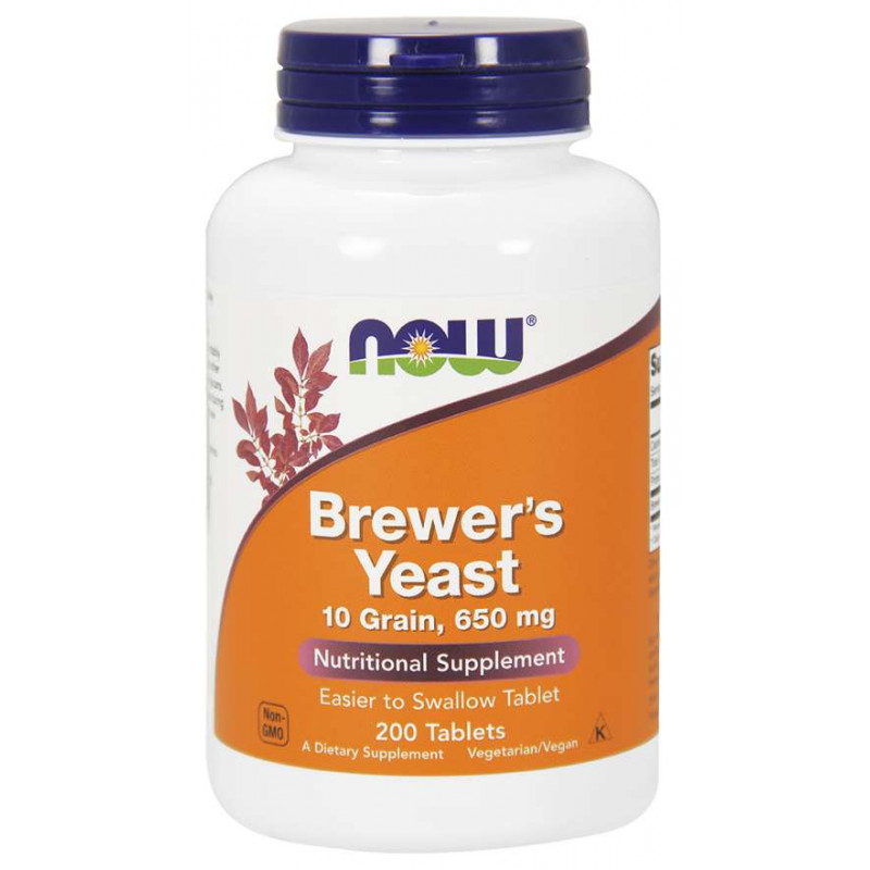 Brewers Yeast (Бирена Мая) 650 мг - 200 Таблетки