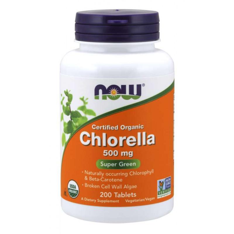 Chlorella 500 мг (Organic) - 200 Таблетки