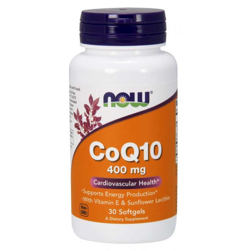 CoQ10 400 мг - 30 Дражета