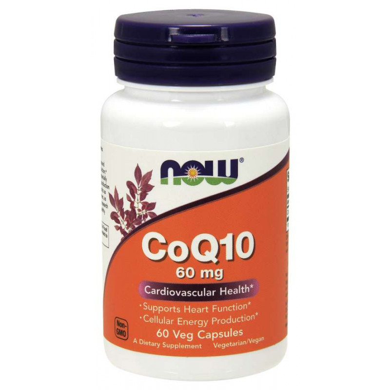 CoQ10 60 мг - 60 Капсули