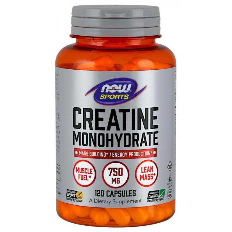 Creatine Monohydrate 750 мг - 120 Капсули