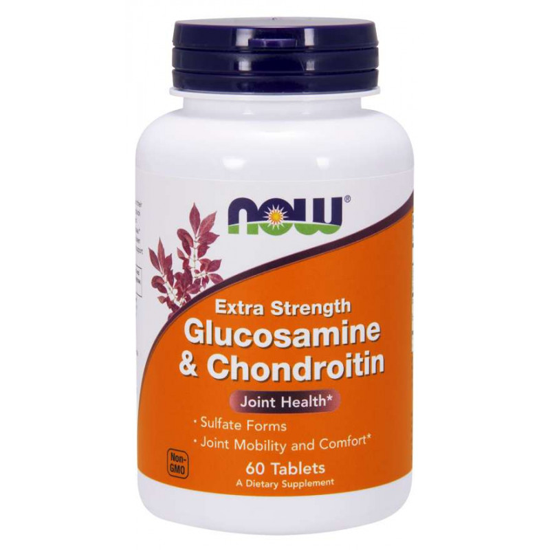 Glucosamine & Chondroitin 750/600 мг - 60 Таблетки