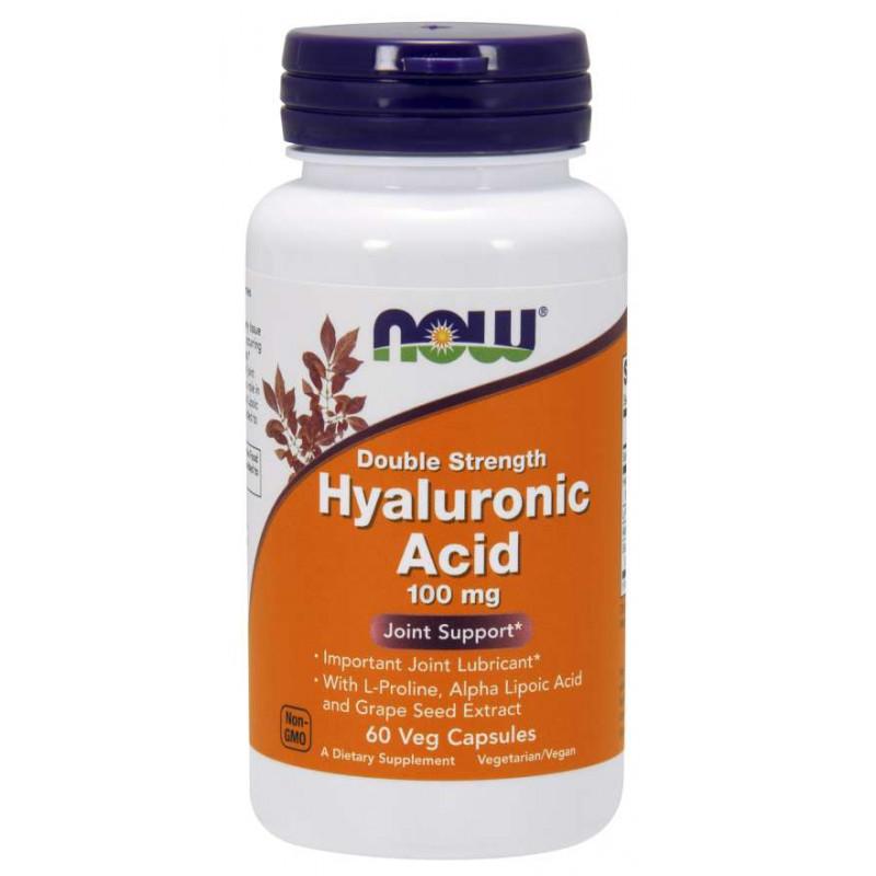 Hyaluronic Acid 100 мг - 60 Капсули