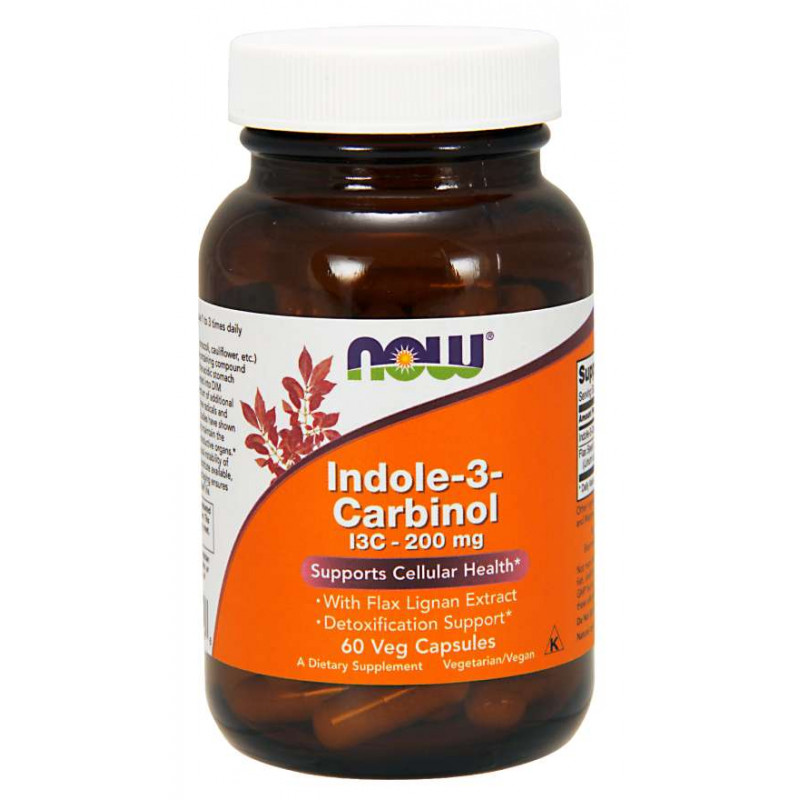 Indole-3-Carbinol 200 мг - 60 Капсули