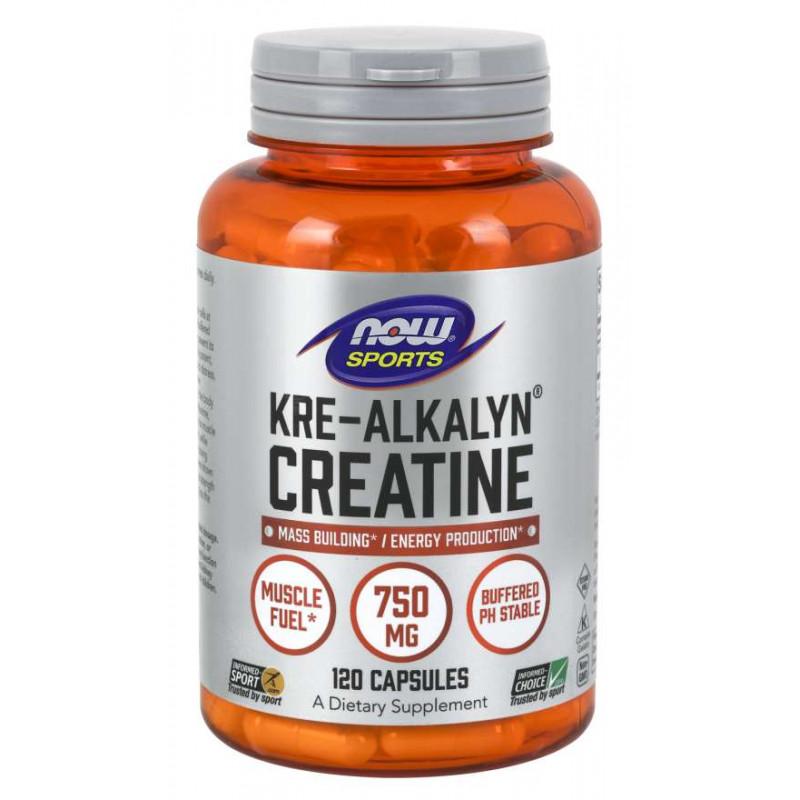 Kre-Alkalyn Creatine 750 мг - 120 Капсули