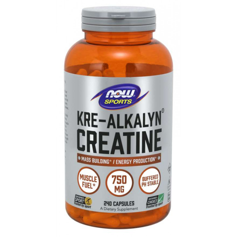 Kre-Alkalyn Creatine 750 мг - 240 Капсули