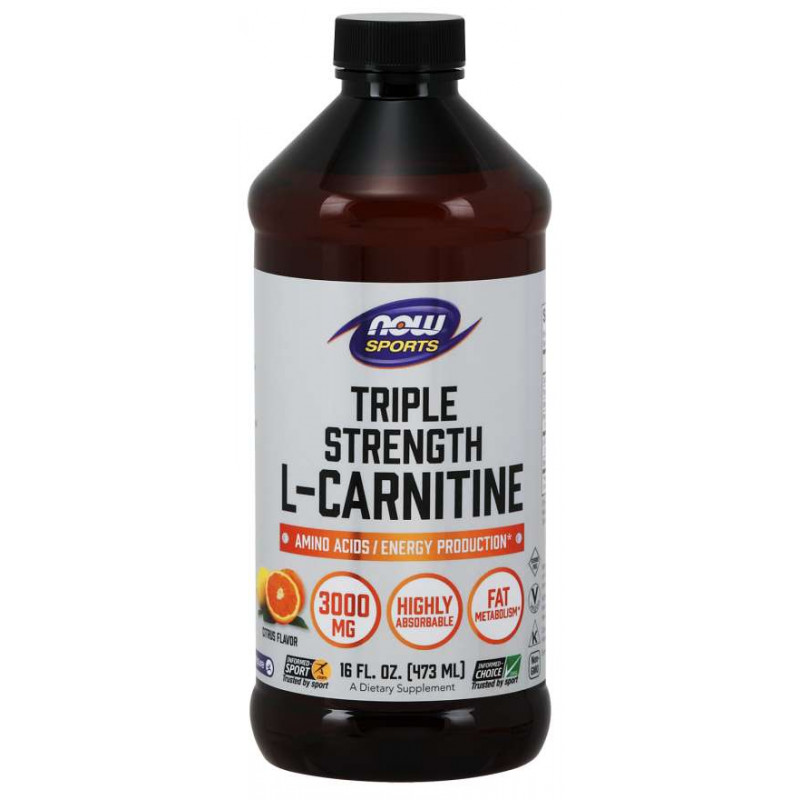 L-Carnitine Liquid - Citrus - 3000 мг (465 мл)