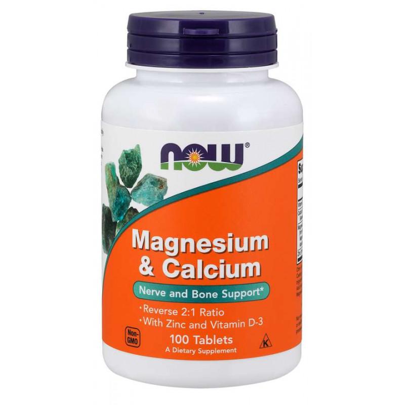 Magnesium & Calcium 2:1 - 100 таблетки