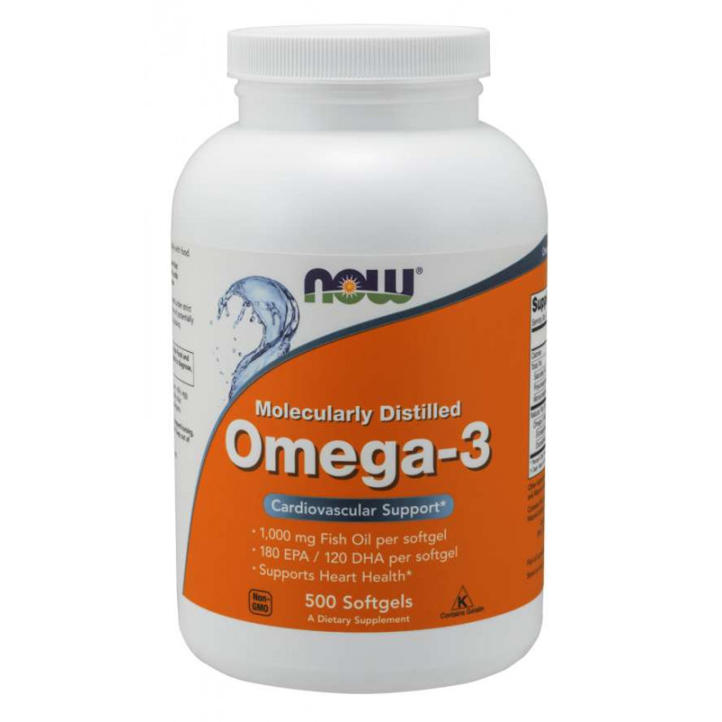 Omega-3 1000 мг - 500 Дражета