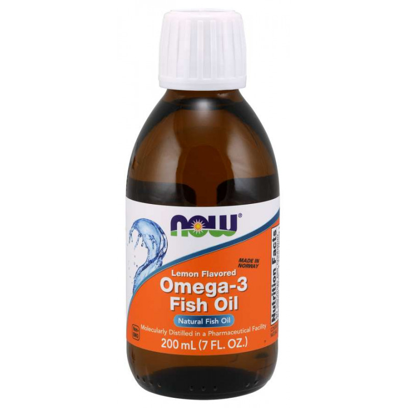 Omega-3 Liquid (Lemon) - 200 мл