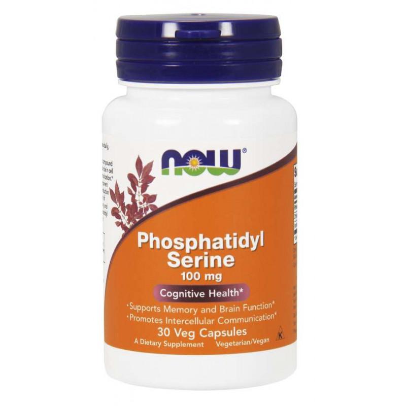 Phosphatidyl Serine 100 мг - 30 Капсули