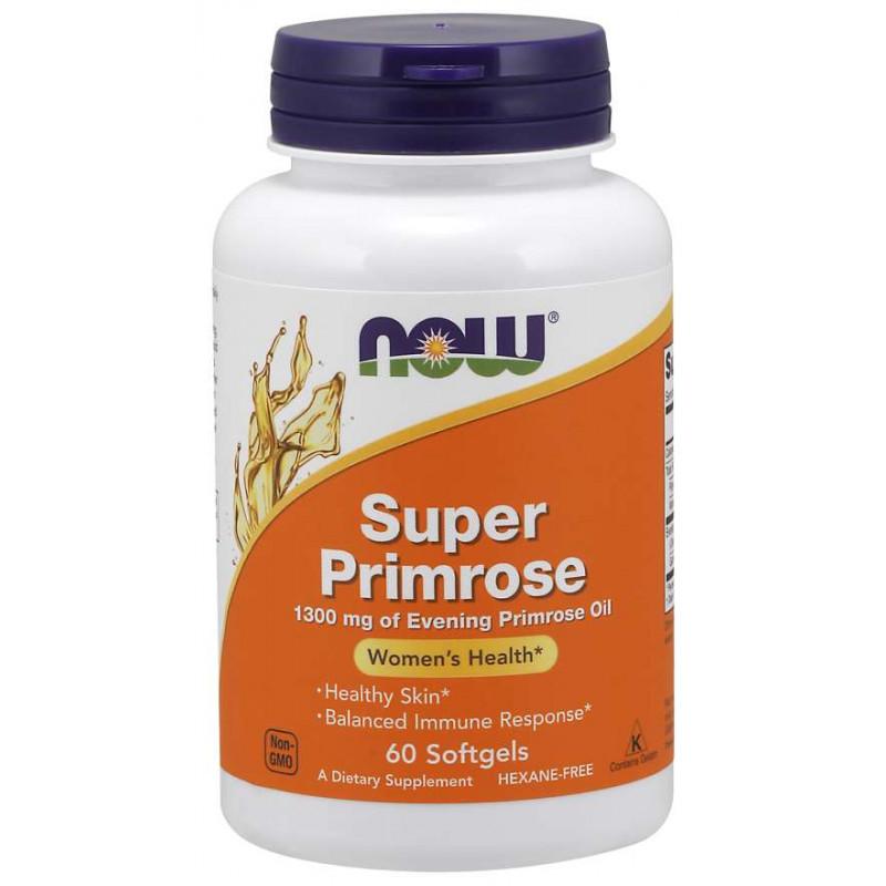 Super Primrose Oil 1300 мг - 60 Дражета
