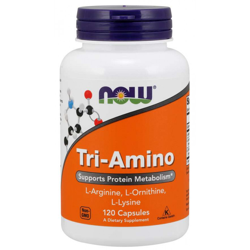 Tri-Amino (Arginine/Ornitine/Lysine) - 60 Капсули