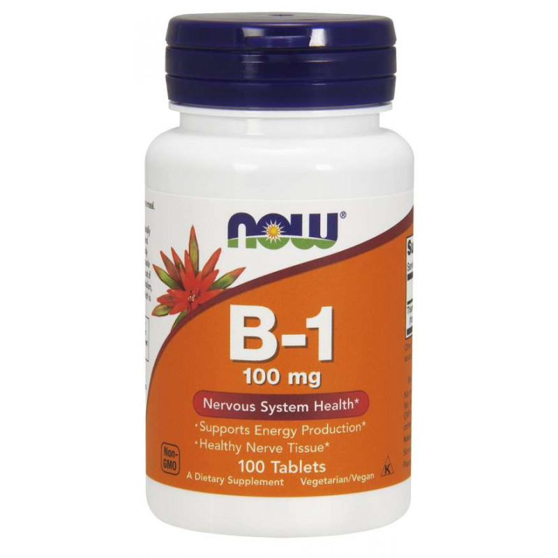 Vitamin B-1 (Thiamine) 100 мг - 100 Таблетки