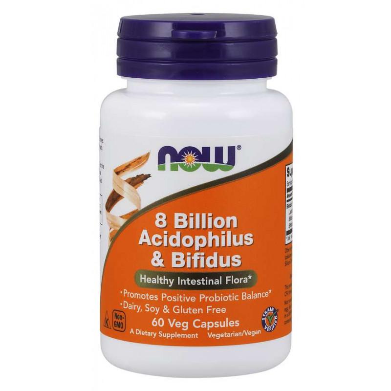 8 Billion Acidophilus & Bifidus - 60 Vcaps