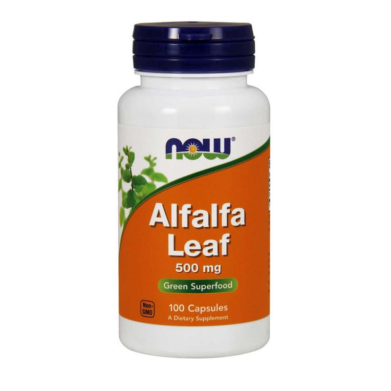 Alfalfa Leaf 500 мг - 100 Капсули (Люцерна)
