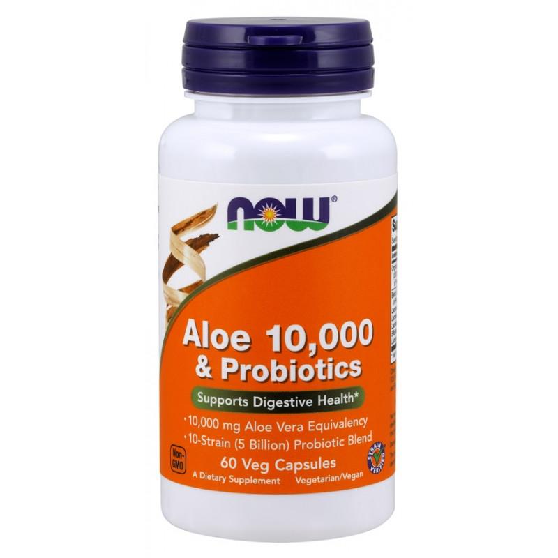 Aloe Vera 10000 & Probiotics - 60 капсули