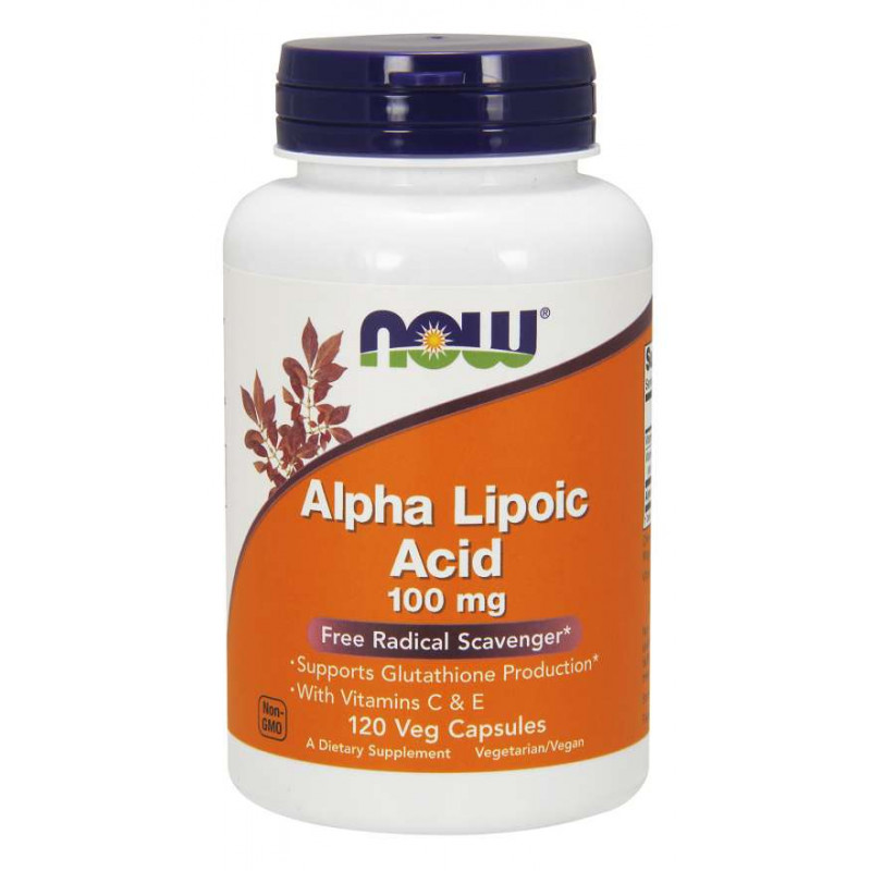 Alpha Lipoic Acid 100 мг - 120 Капсули
