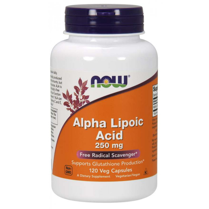 Alpha Lipoic Acid 250 мг - 120 Капсули