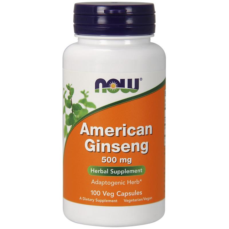 American Ginseng (Американски жен-шен) 500 mg - 100 веган капсули