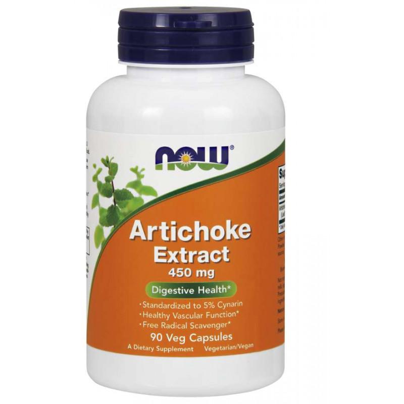 Arthichoke Extract 450 mg - 90 веган капсули