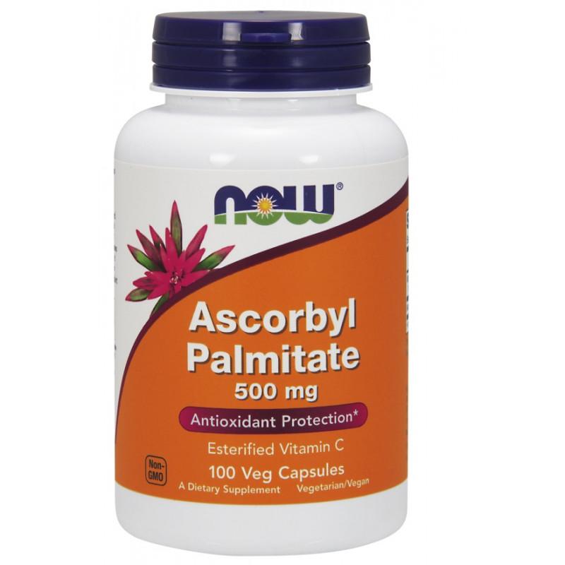 Ascorbyl Palmitate 500 mg - 100 веган капсули
