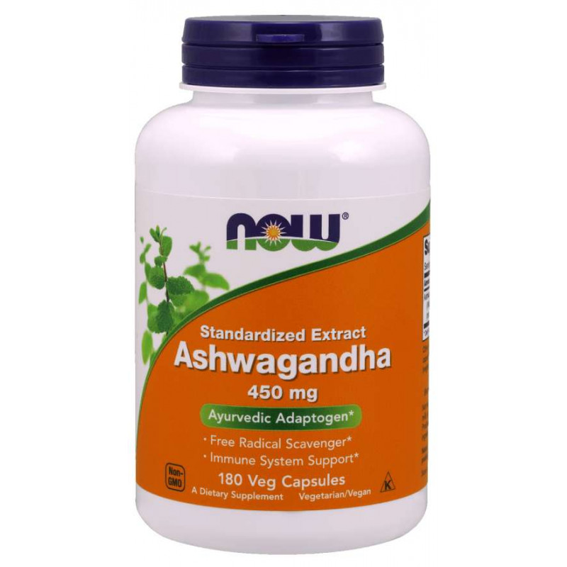 Ashwagandha Extract 450 мг - 180 Капсули