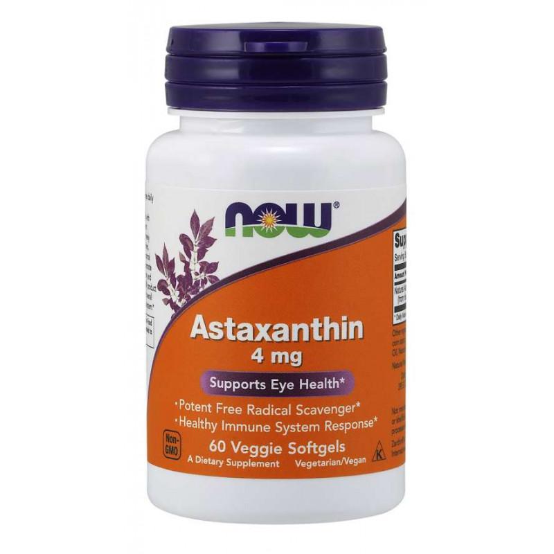 Astaxanthin 4 мг - 60 Дражета