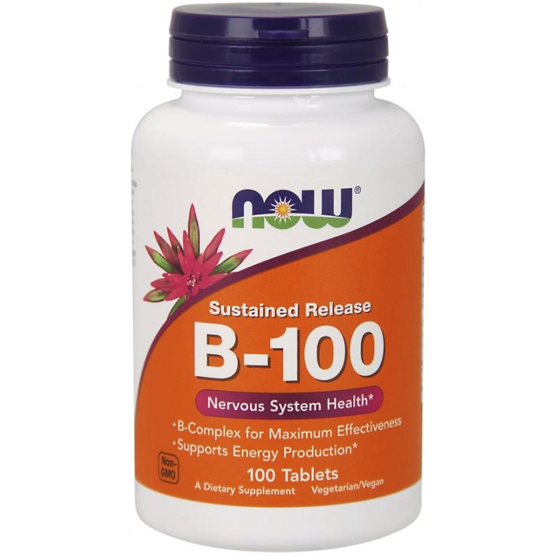 B-100  Sustained Release - 100 таблетки