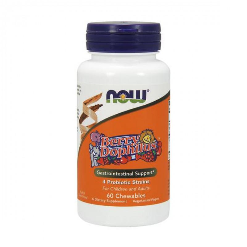 BerryDophilus - 60 Дъвчащи Таблетки