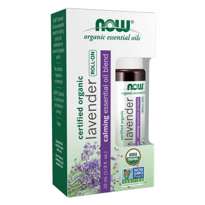 Био лавандулово масло рол-он - (roll - on organic lavender) - 10 ml