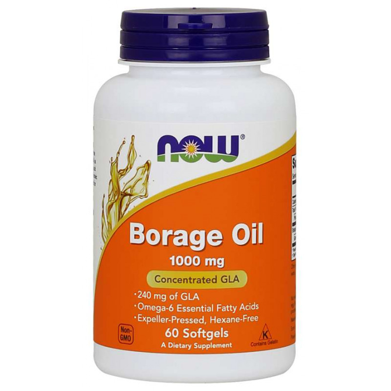 Borage Oil (Масло от Пореч) 1000 мг - 60 Дражета