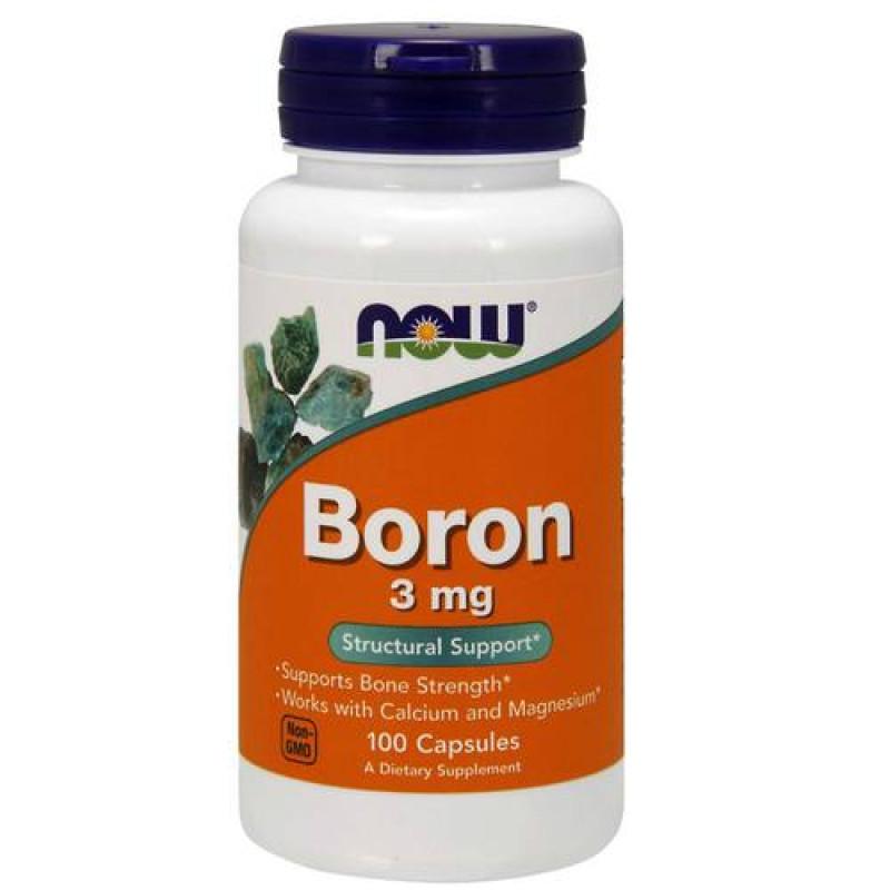 Boron (Бор) 3 мг - 100 Капсули