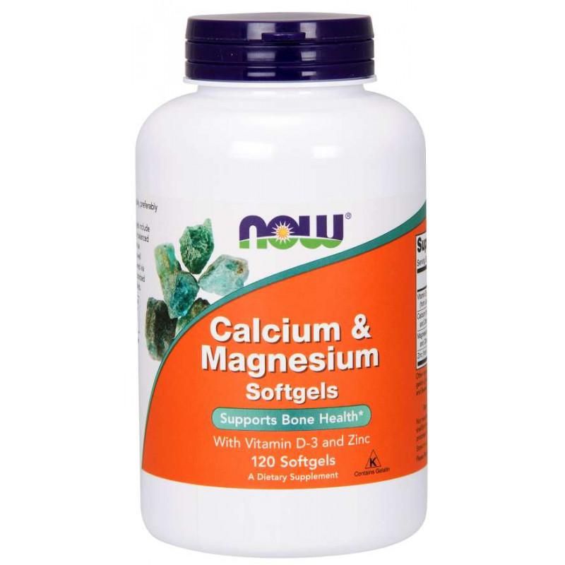 Cal-Mag + Vitamin D - 120 дражета
