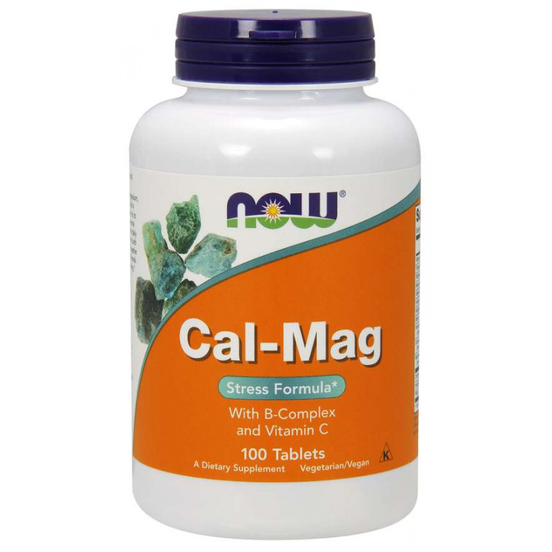 Cal-Mag with B-Complex and Vitamin C - 100 таблетки