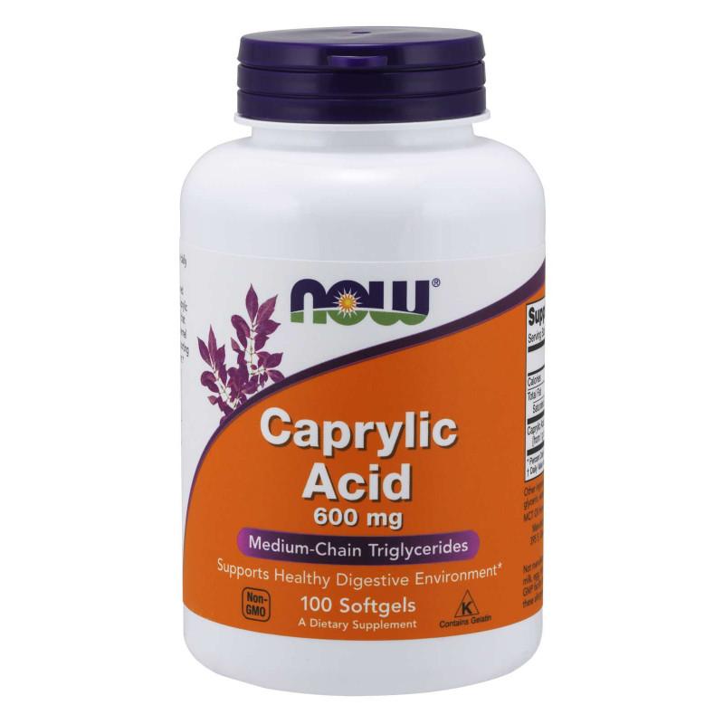 Caprylic Acid 600 мг - 100 Дражета