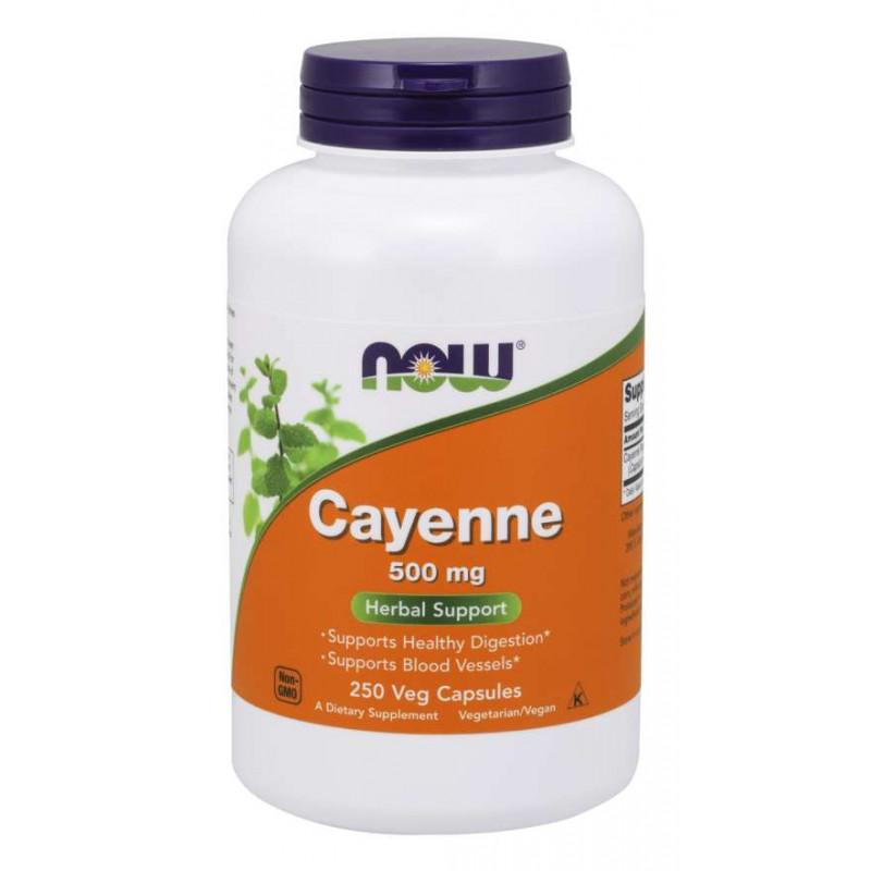 Cayenne (Лют Червен Пипер) - 500 мг - 250 Капсули