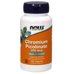 Chromium Picolinate 200 мкг - 100 Капсули