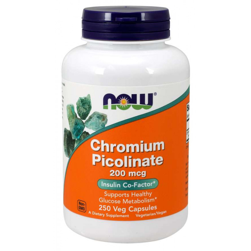Chromium Picolinate 200 мкг - 250 Капсули