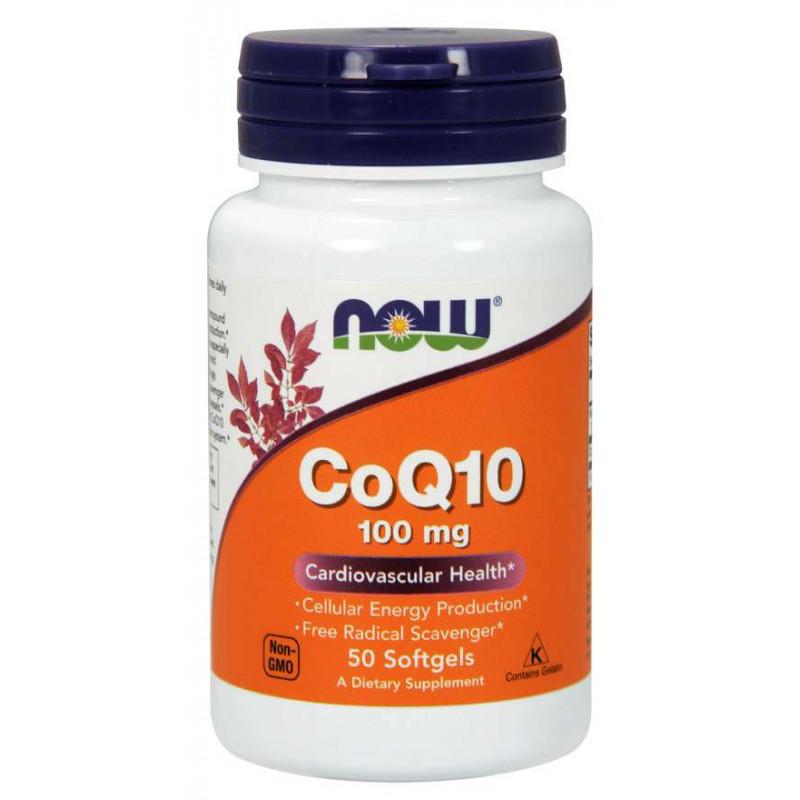 CoQ10 100 мг - 50 softgels