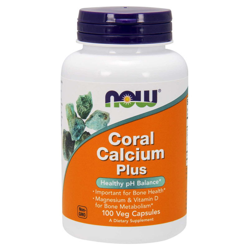Coral Calcium Plus - 100 Vcaps