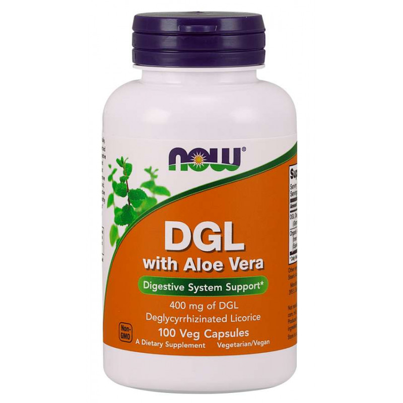 DGL 400 mg with Aloe Vera - 100 Vcaps
