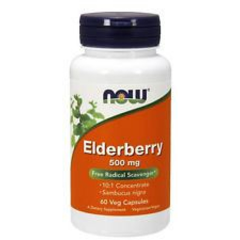 Elderberry Extract 500 мг - 60 Капсули