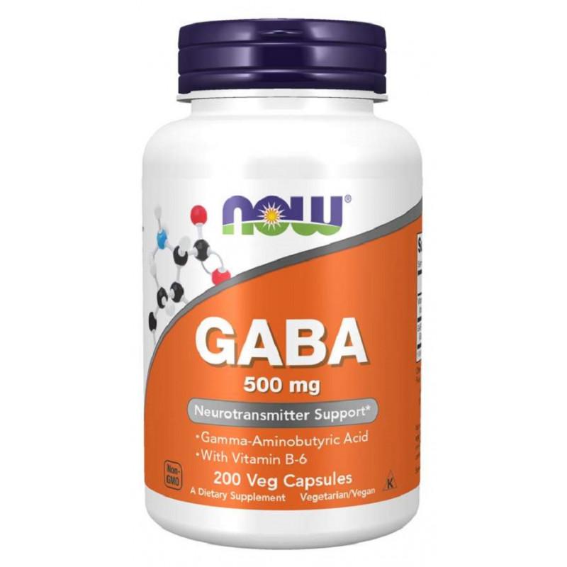 GABA 500 мг + B6 - 200 Капсули