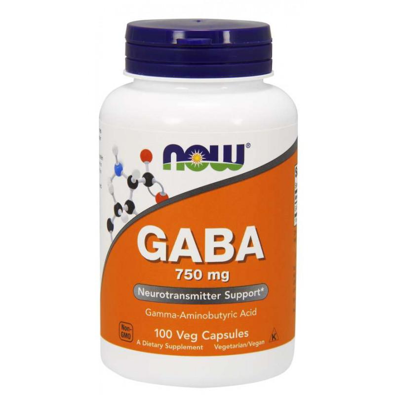 Gaba 750 mg - 100 Vcaps
