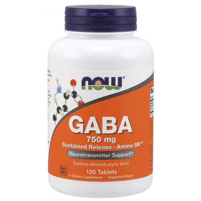 GABA 750 mg SR - 120 таблетки