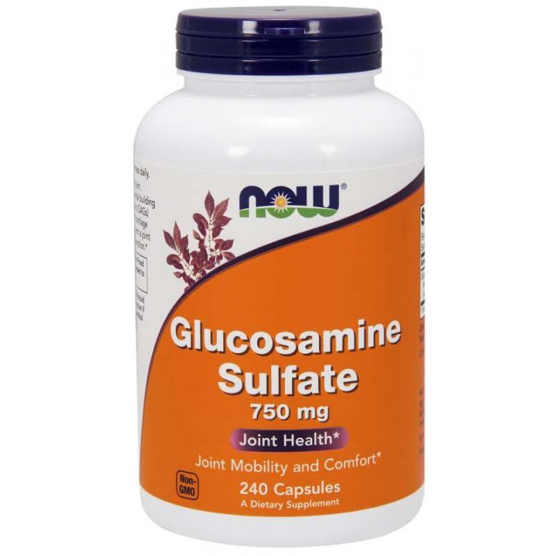 Glucosamine Sulfate 750mg - 240 Capsules